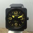 Bell & Ross BR01-92-S-YLW LE 489/500 Automatic PVD Coated