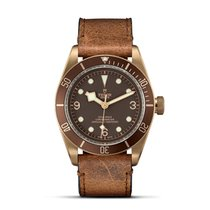 Tudor HERITAGE BLACK BAY Bronze Brown Aged Leather 79250 BM