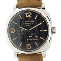 Panerai New  Radiomir Stainless Steel Black Automatic PAM00658