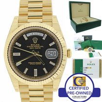 Rolex Day-Date President 40mm 228238 18K Gold Diamond Watch