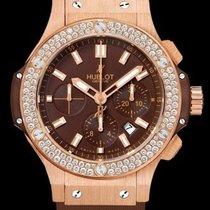 Hublot Aero Bang Cappuccino Gold Diamonds 301.PC.3180.RC.1104