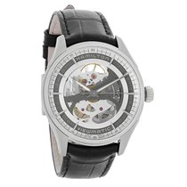 Hamilton Mens Jazzmaster Skeleton Dial Swiss Automatic Watch...