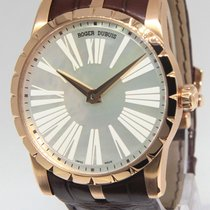 Roger Dubuis Excalibur 42 18k Rose Gold MOP 42mm Automatic...