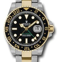 Rolex 116713 GMT-Master II 18KYellow Gold&Stainless...