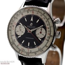 Breitling Vintage Chronomat Two Tone Dial Ref-808 Stainless...