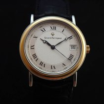 Girard Perregaux Vintage Steel and 18k Gold Automatic Watch
