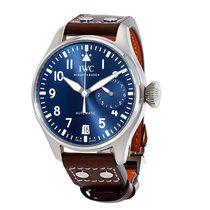 IWC Big Pilot Midnight Blue Dial Automatic Mens Watch IW500916