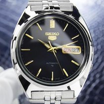 Seiko Rare Seiko 5 Jumbo Automatic 37mm 1970s SS Retro Made in...