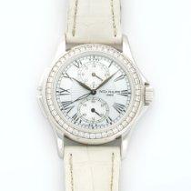 Patek Philippe White Gold Travel Time Diamond Ref. 4934G
