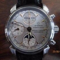 Eterna 1948 Eterna-matic Triple Calendar Moon-phase Chronograp...