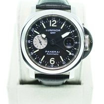 Panerai Used   PAM00088 Contemporary Luminor GMT Gents Watch