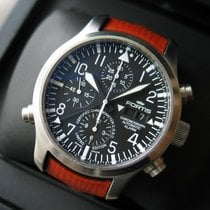 Fortis B-42 Flieger Chronograph Alarm Limited Edition Chronometer
