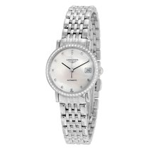Longines Elegant Mother of Pearl Diamond Automatic Ladies Watch