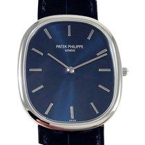 Patek Philippe 5738P-001 Golden Ellipse 34.5 × 39.5mm Blue...