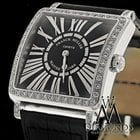 Franck Muller 6002 M Quartz Master Square With Black Dial...
