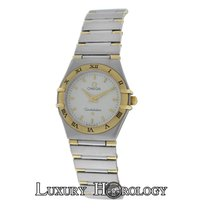 Omega Mint Ladies  Constellation 25mm Two Tone 18K Gold &...