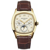 Patek Philippe Grand Complications 37mm Cushion Shaped Yellow...