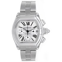 Cartier Roadster Chronograph Stainless Steel Men's Watch...