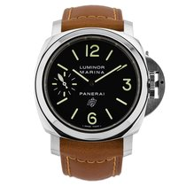 Panerai Luminor Marina Logo Acciaio 44 mm
