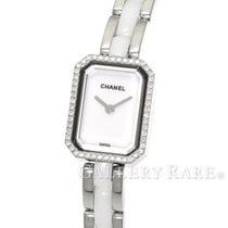 Chanel Premiere Diamond Bezel Steel Ceramic Quartz Ladies Watch