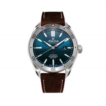 Alpina Alpiner Automatic 4 Leather Men's Watch
