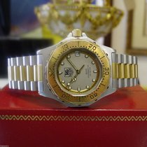 TAG Heuer 3000 Professional 934.213 Steel Gold Plated Date Watch
