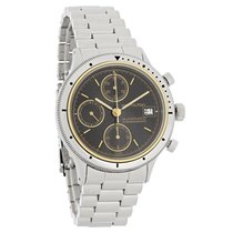 Hamilton Mens Black Dial Swiss Chronograph Automatic Watch 9304A