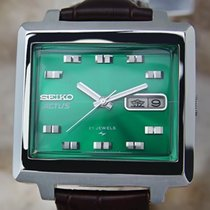 Seiko Actus 21 Jewels Men's 36mm Made In Japan Vintage...