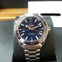 Omega 23230442203001 Planet Ocean GMT Blue 43.5mm [NEW]
