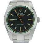 Rolex Milgauss Green LIKE NEW REF: 116400V bko