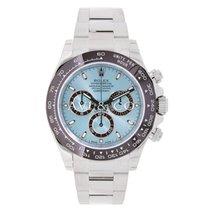 Rolex DAYTONA Platinum Watch Ice Blue UNWORN 2016