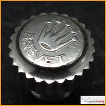 Rolex Crown Brevet 8mm &Tube Original Rare Stock #...