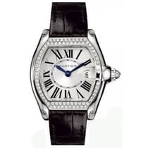 Cartier Roadster Ladies' Watch 18K White Gold Silver Dial...