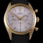Rolex Choronograph Ref 6238 18k Yellow Gold