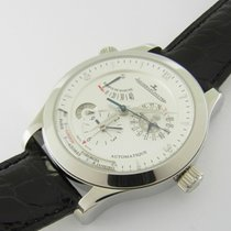 Jaeger-LeCoultre Master Control Geographic Stahl Ref 147.8.57....