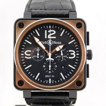 Bell & Ross BR01-94 Rose Gold & Carbon
