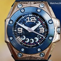 Linde Werdelin Oktopus Moonphase Gold Tattoo LTD