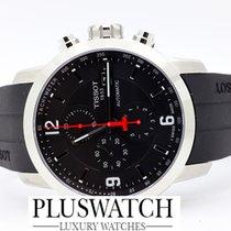 Tissot Prc 200 Automatic Chronograph Gent Black Dial R