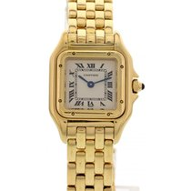 Cartier Ladies Cartier Panthere 18K YG 1070 W/ Box & Papers