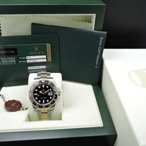 Rolex GMT-MASTER 2 116713LN 2-Tone Ceramic Bezel Full Set