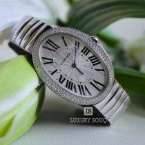 Cartier Baignoire Silver Dial 18kt White Gold