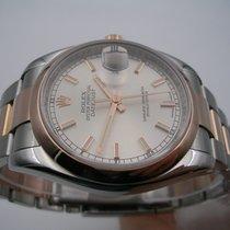 Rolex Datejust 116201 Steel & Rose Gold 18 KT FULL SET