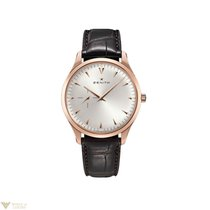 Zenith Heritage Ultra Thin Silver Dial 18k Rose Gold Men's...