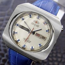 Orient Chrono Ace Rare Vintage Mens Jumbo Day Date Automatic...