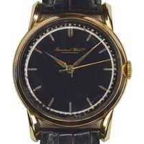 IWC Klassiek Vintage black dial