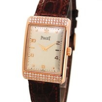 Piaget 9952 18K Rose Gold, Custom Diamond Setting, w Paper and...
