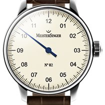 Meistersinger N 02 43mm Ivory Dial - AM 6603