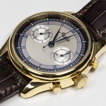 "Minerva Villeret ""Chronograph"" ref. M132000 Yellow Gold"