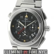 IWC Ingenieur Collection Chronograph Alarm Black Dial 1990's
