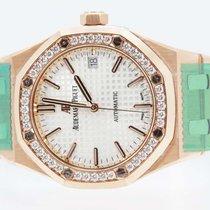 Audemars Piguet Royal Oak Rose Gold Ladies 37mm w/ Diamonds